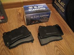 Black diamond predator brake pads Front 288 & 312mm
